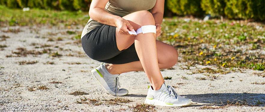 Magnetne trake za koljena + traka za ruku