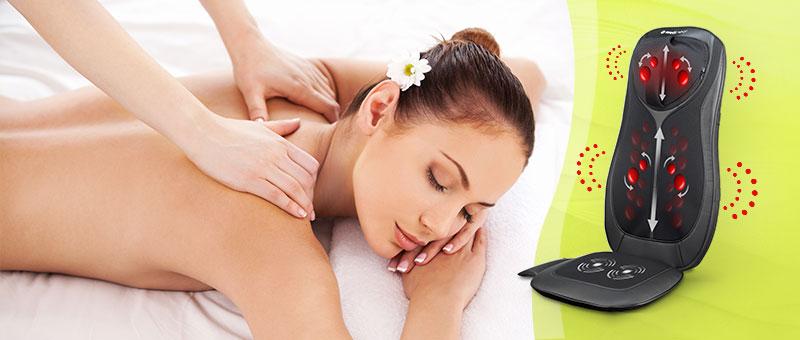 4u1 Shiatsu Total masažer za leđa i vrat